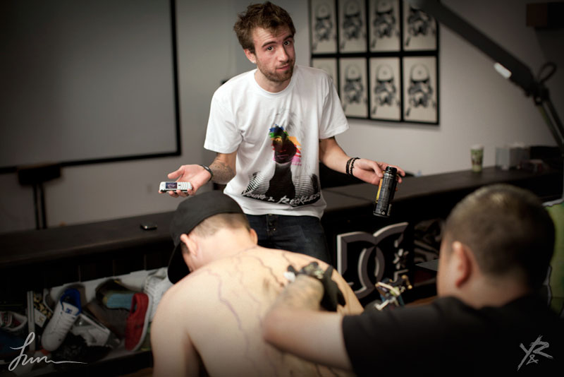 Rob dyrdek s monster back tattoo coup d 39 etat for Rob dyrdek tattoos